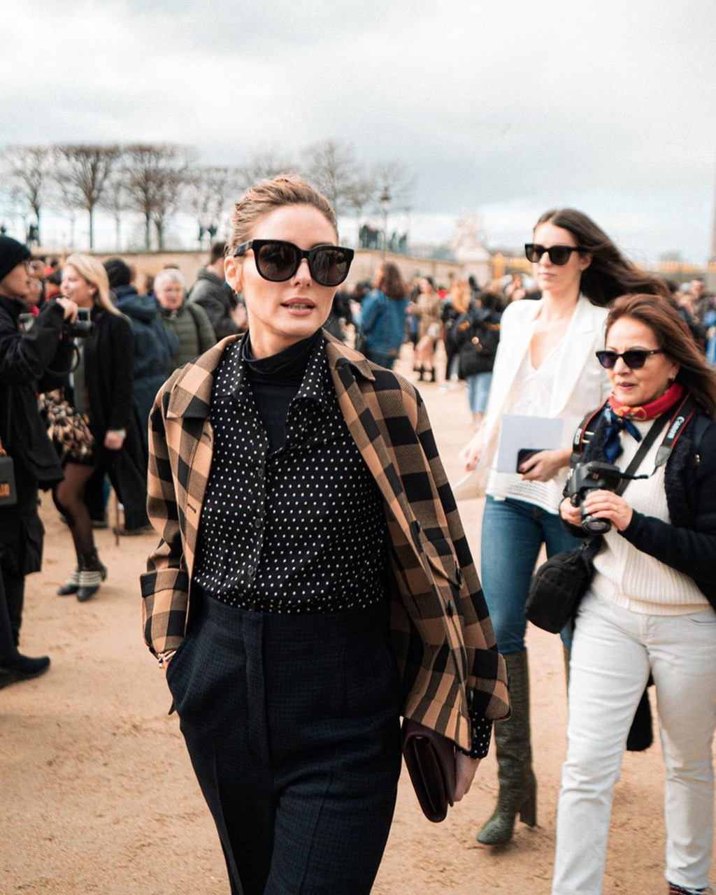 Nos rendimos a estos siete alucinantes looks de belleza que ha lucido Olivia Palermo durante la Semana de la Moda de París