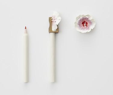 No hay que sacar mucha punta para hacer estas preciosas flores