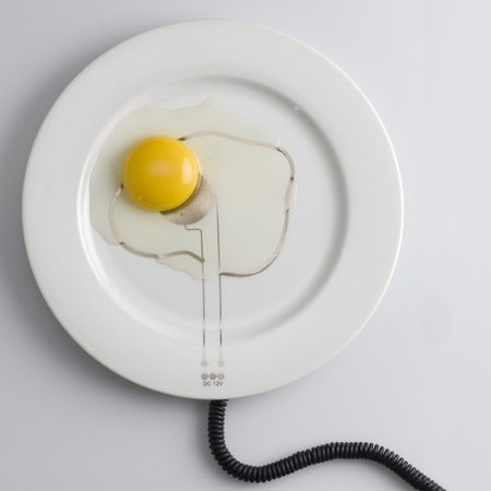 Un plato para mantener la comida caliente