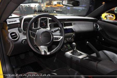 Nuevo interior para el Chevrolet Camaro en 2012 y algo más...