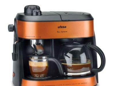 Cafetera expreso Ufesa por 61 euros en Amazon
