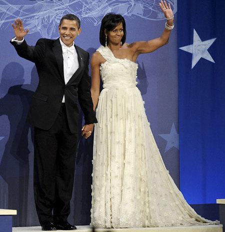 El vestido de Michelle Obama en el baile de fin de celebración