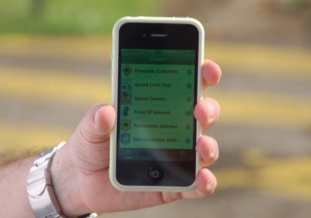 TomTom aplicación de campo para iPhon
