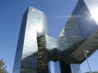 Un rascacielos poliédrico en Barcelona