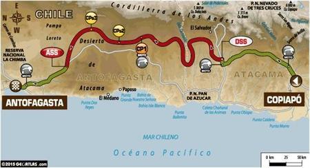 Mapa Etapa5 Dakar2015