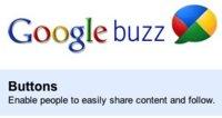 Google lanza los botones oficiales de Buzz para compartir contenido