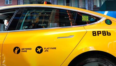 Tesla Model 3 taxi en Nueva York