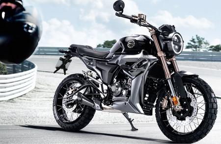 La Zontes G1-125 es la nueva moto scrambler sin carnet lowcost, con un precio de 3.195 euros
