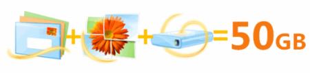 SkyDrive y Hotmail ofrecerán 50GB de almacenamiento gratuito