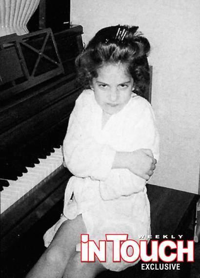 Foto de Lady Gaga de niña (1/3)