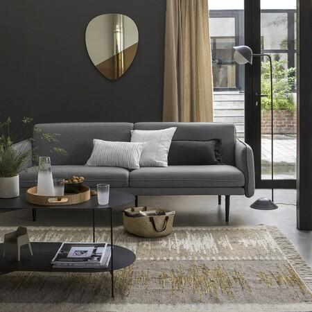 Sofa Cama De 3 Plazas En Color Gris La Redoute