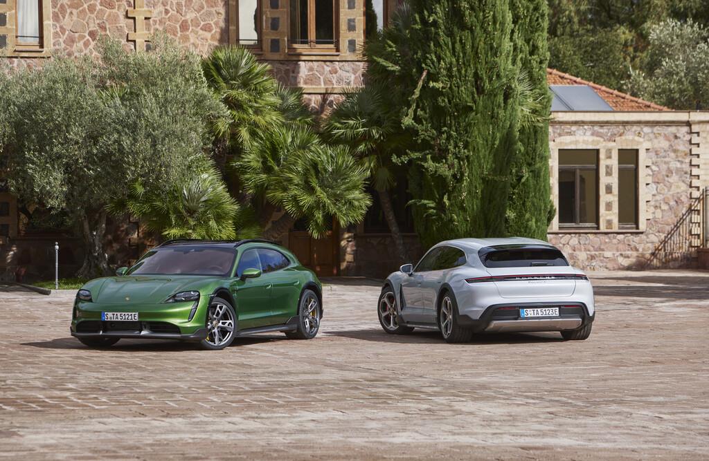 Porsche Taycan Cross Turismo, así es el segundo coche eléctrico de Porsche con 761 CV y ganas de salir al campo