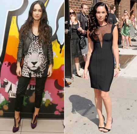Megan Fox, ¿sofisticada o rockera?