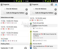Google Maps ya incluye la red de cercanías de Madrid para la navegación en transporte público