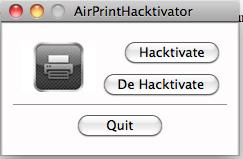 Activa AirPrint con un click