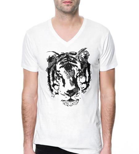 camiseta tigre Zara