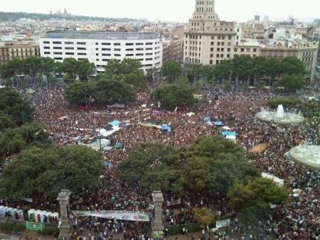 Plaça Catalunya - 27 Mayo