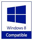 Sello Windows 8 Compatible