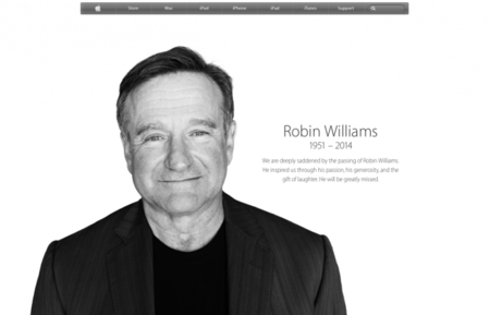 Robin Williams Apple