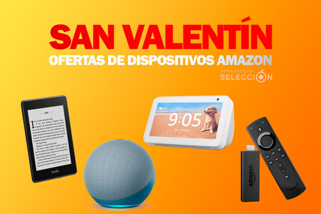 Grandes ofertas en dispositivos Amazon para los más enamorados en San Valentín: Fire TV Stick, Echo Show, Kindle Paperwhite y más