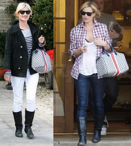 El estilo campestre de Kate Moss
