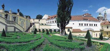 El Jardín de Vrtbovská en Praga