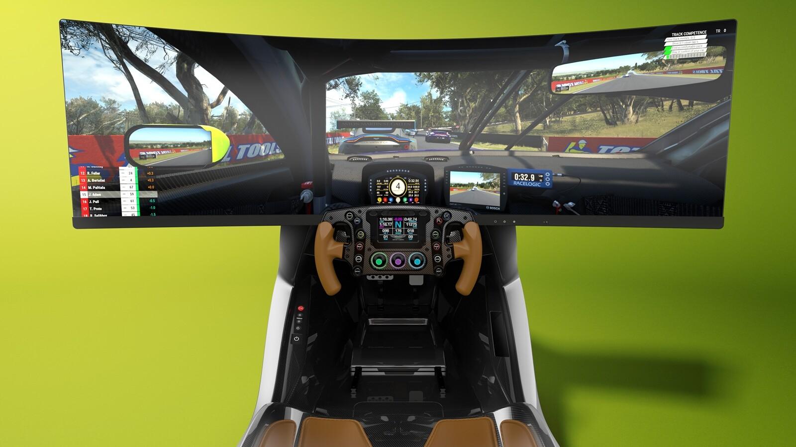 Foto de Simulador Aston Martin AMR-C01 (16/19)