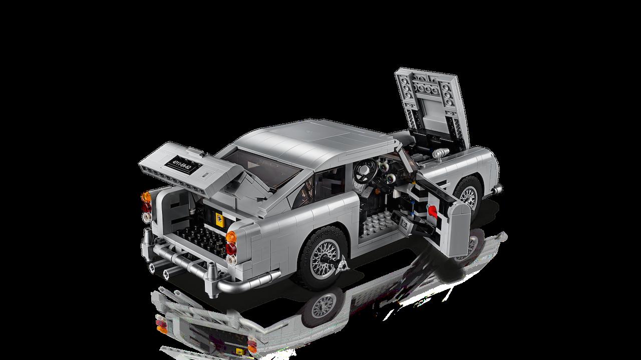 Foto de Aston Martin DB5 007 de LEGO (4/39)