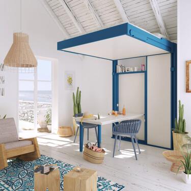 Las camas de techo como solución creativa para convertir cualquier espacio en dormitorio (o viceversa)