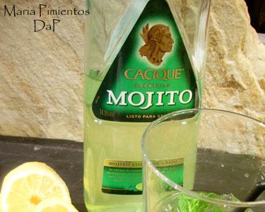 Cacique Mojito Moreno. Un mojito listo para servir