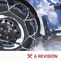 Cómo montar las cadenas para la nieve en el coche