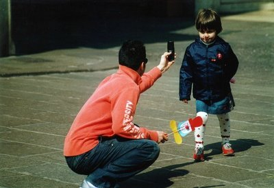 En el siglo XXI los padres son más tiernos y afectuosos