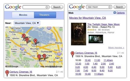 Google y el teléfono móvil te ayudan a ir al cine