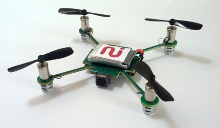 MeCam UAV, una cámara voladora automática para grabar nuestras aventuras