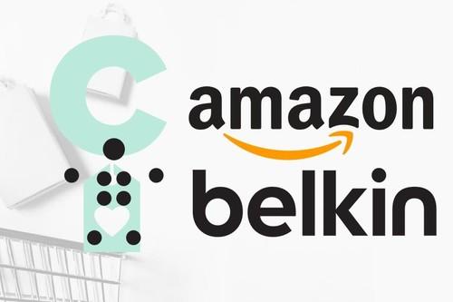 En Amazon tienes una selección de artículos Belkin rebajados para tus dispositivos Apple