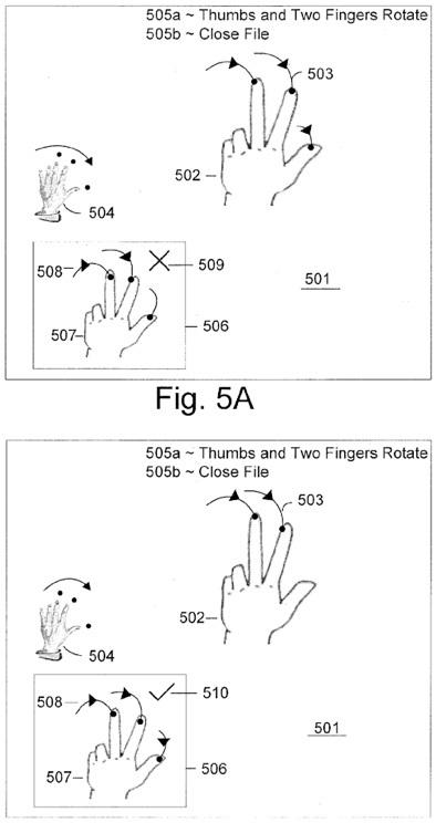 Patente multitouch macbook