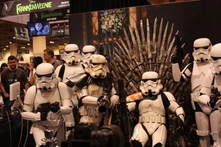 Storm Troopers en el Trono de Hierro