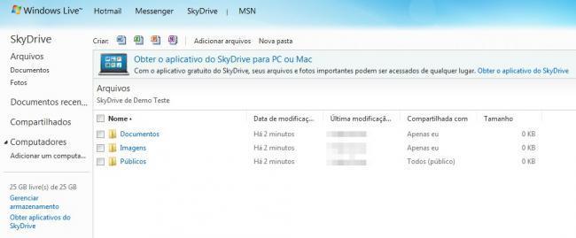Skydrive para Mac y PC