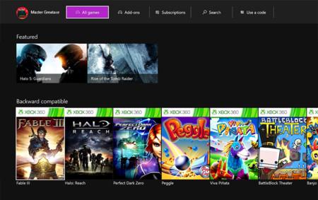 Xbox One Juegos Compatibles Xbox 360