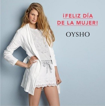 Oysho también celebra el 'Día de la Mujer' con un 20 % de descuento