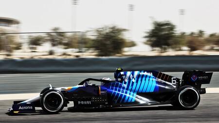 Latifi Sakhir F1 2021