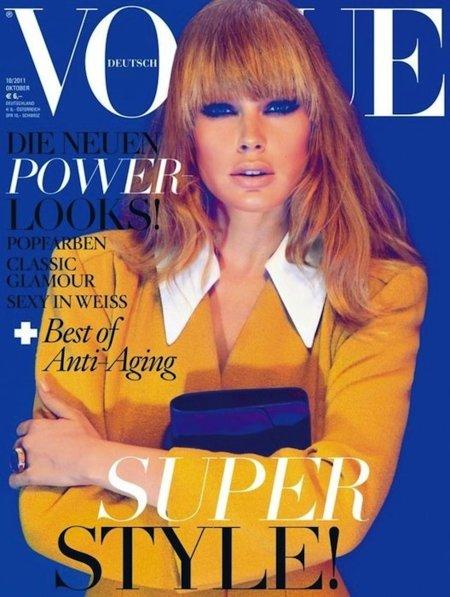 Vogue Alemania sigue siendo la reina entre las Vogues, ahora con Doutzen Kroes como protagonista