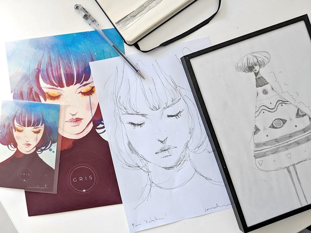 'GRIS': así se han transformado los dibujos de este artista español en uno de los videojuegos más bonitos del año