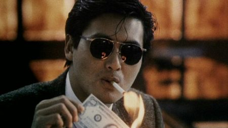 Chow Yun-Fat en A Better Tomorrow