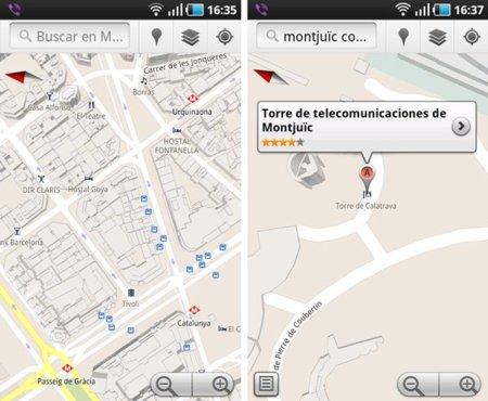 Google Maps para Android con vistas 3D de nuevas ciudades