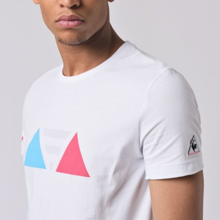 Símbolos de los 90: la camiseta Dynactif de Le Coq Sportif