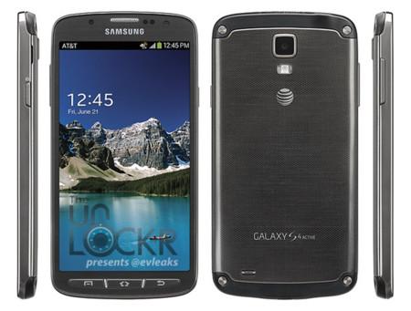 Samsung Galaxy S4 Active aparece en imágenes oficiales