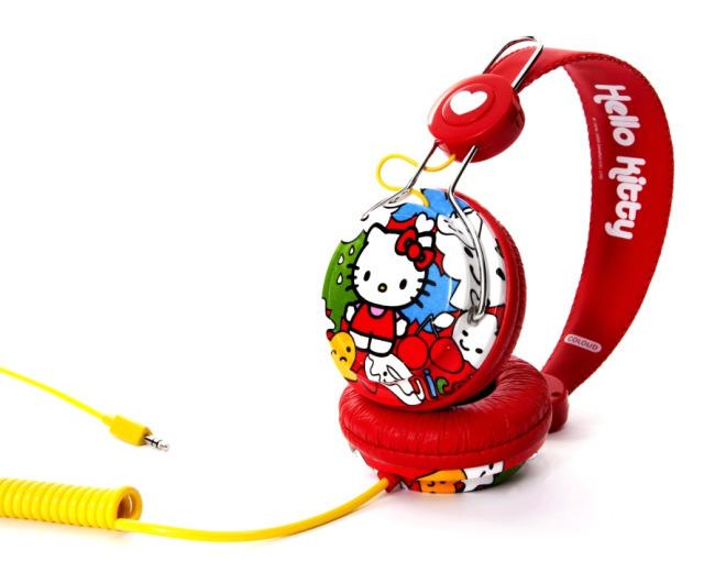 Auriculares Coloud de Hello Kitty