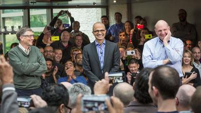 Satya Nadella es el CEO que Microsoft necesita