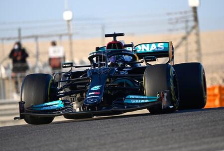 Hamilton Sakhir F1 2021